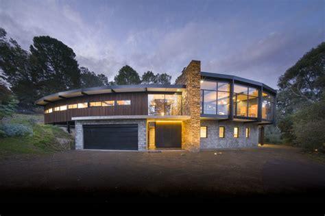 stunning sculptural mid century modern inspired home