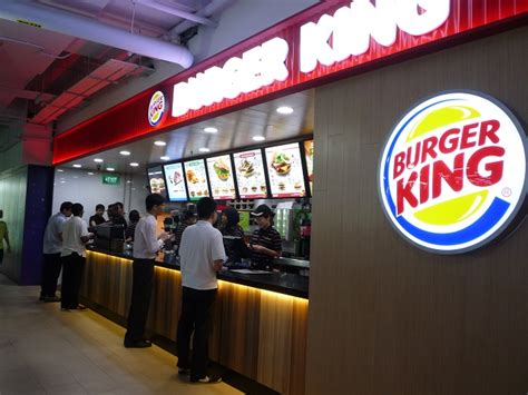 cuisine 駘ite burger king at ite e design contract pte ltd