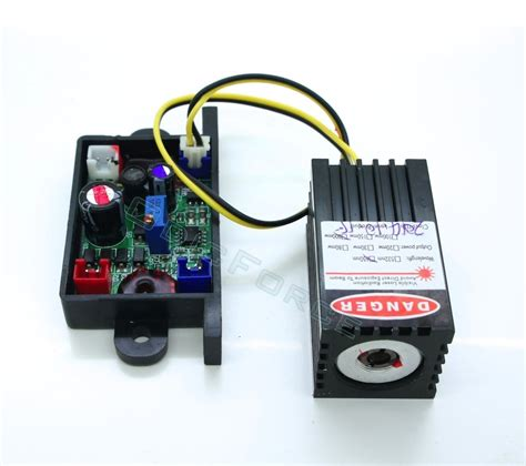 laser diode driver module 200mw 650nm laser diode module with 12v ttl driver board and heat sink mount r200d odicforce