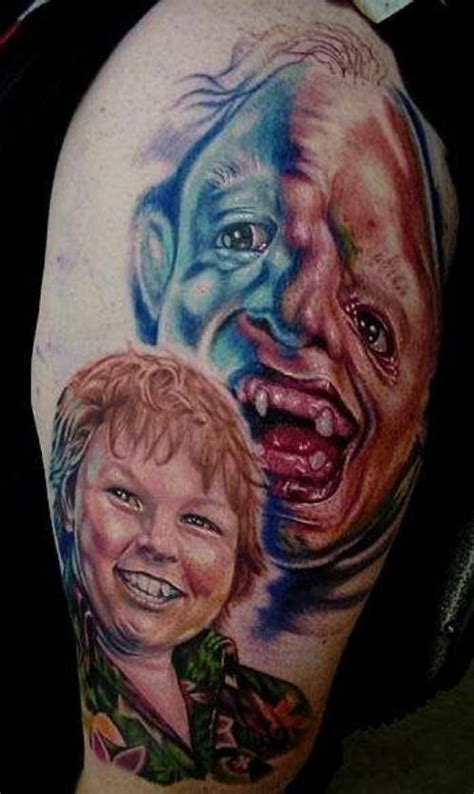 goonies tattoo 21 tattoos that will make your jaw drop