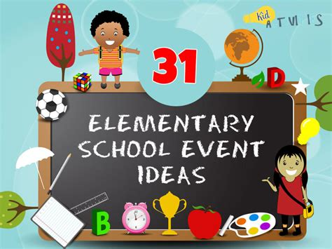 elementary school event ideas family fun event ideas