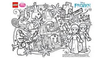 frozen fun coloring activities disneyprincess2016 lego