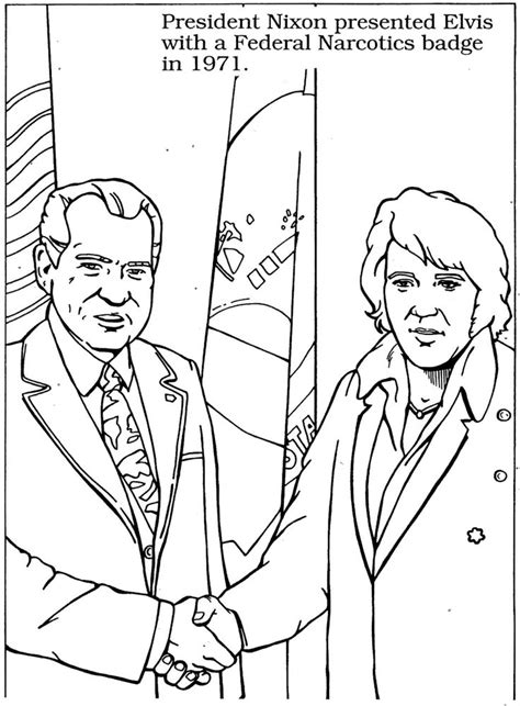 elvis coloring book pages 15 best images about elvis coloring pages on pinterest
