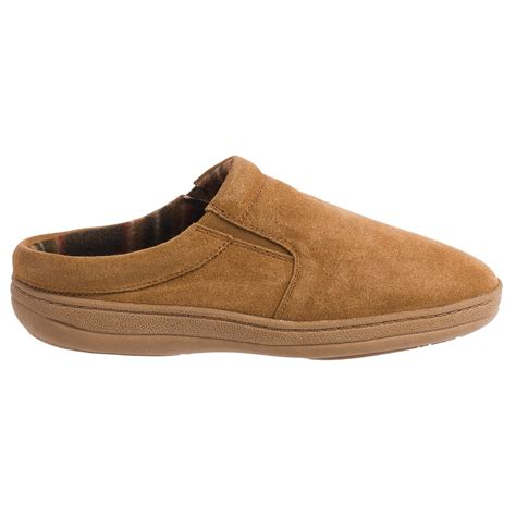 suede slippers s clarks fleece lined suede slippers for save 78