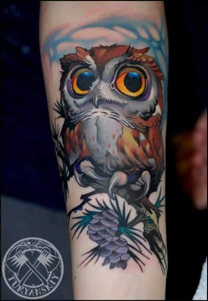 tattoo old school eule owl tattoos for men inspiration and gallery for guys