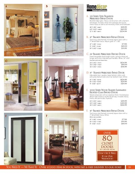western building center home decor catalog