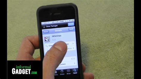 how to uninstall sbsettings ipod touch how to hide delete apps like cydia on any jailbroken