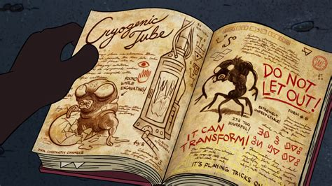 libro one inside a novel image s2e2 shapeshifter book png gravity falls wiki fandom powered by wikia