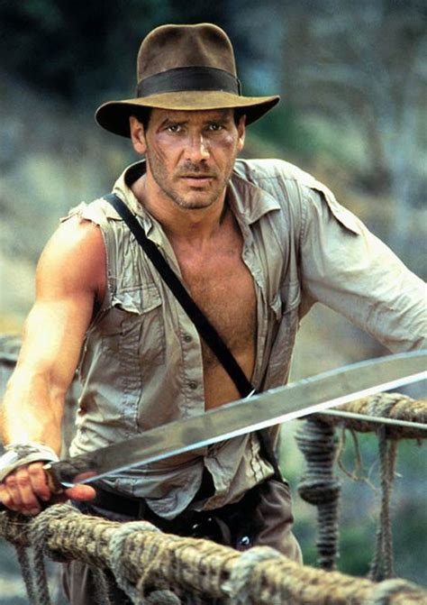 Harrison Ford Is Indiana Jones by Happy B Day Harrison Ford All That I