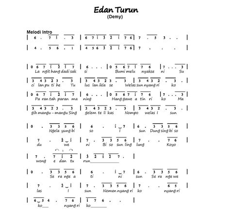 download lagu mp3 edan turun via vallen gambar lirik lagu edan turun not angka lagu kanggo riko