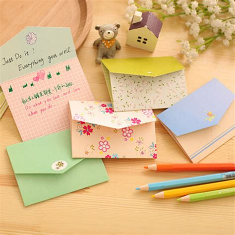 writing wishes on paper 12 pcs lot floral folding greeting card thank you card