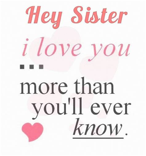 sister love quotes ideas  pinterest sister quotes heart sisters  beautiful