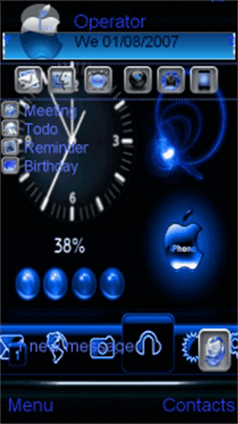 iphone themes java download download animated iphone nokia theme mobile toones
