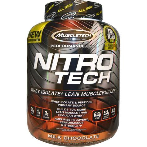 Premium Muscletech Nitrotech 4lbs 70 Better Whey Protein Lm866 Muscletech Nitro Tech