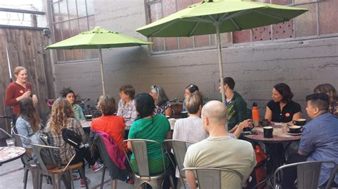 sextant coffee sf coffee club recap women bike sf talks family biking