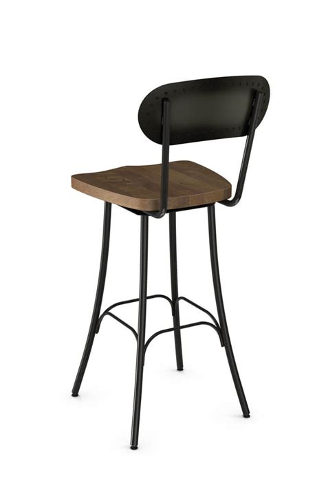 Swivel Bar Stool With Back Swivel Bar Stools With Back Harlow Adjustable Height Swivel Bar Stool Set Of 2 Hillsdale