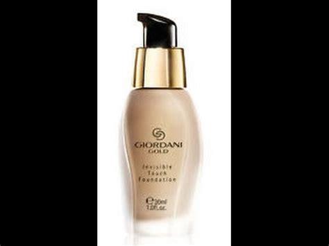 Giordani Foundation Oriflame oriflame giordani gold invisible touch foundation review
