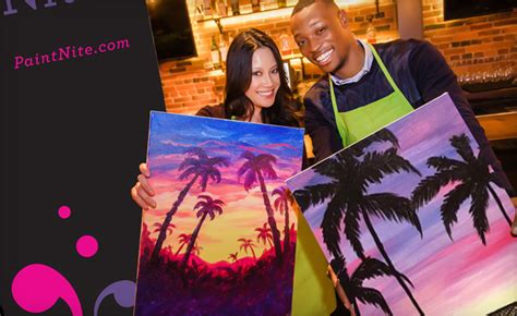 paint nite calgary coupon code 25 ticket to paint nite deal wagjag