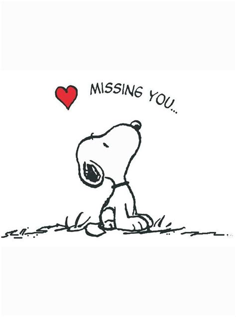 imagenes de i will miss you snoopy missing you quotes quotesgram