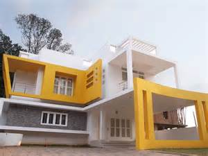 Home Design Exterior Elevation by Above 2500 Square Feet Contemporary Home Design Exterior