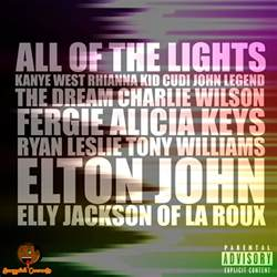 actual world all of the lights kanye west feat