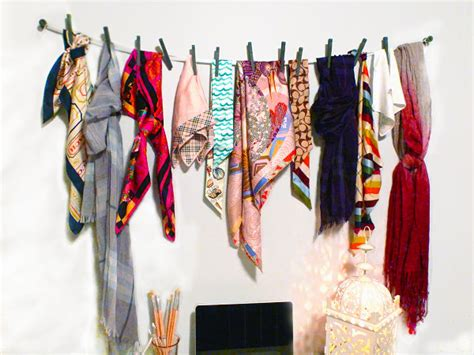 Ikea Photo Ledges by Scarf Storage Solutions For An Organized Closet