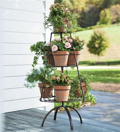 Garden Planter Stands by 17 Best Images About Plant Stands On Trees