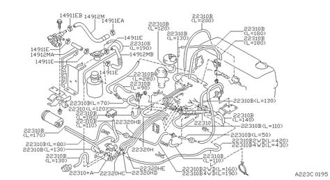 nissan 1997 engine 1997 nissan altima engine diagram automotive parts