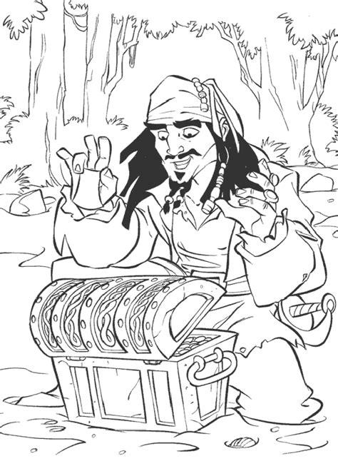 imagenes de jack para colorear dibujo de jack sparrow