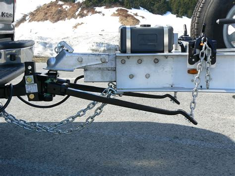 boat trailer weight distribution weight distributing hitch to aluminum i beam trailer
