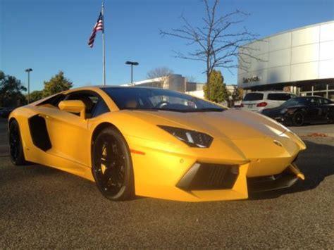 Lamborghini Minneapolis Buy New 2012 Lamborghini Aventador Awd In Minneapolis