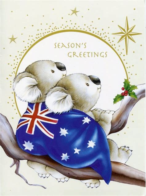 in australia christmas falls in which seasen season s greetings from australia remembering letters and postcards