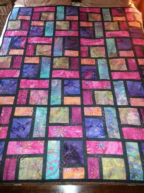 Stained Glass Quilting by Stained Glass Quilt Quilting Inspiration