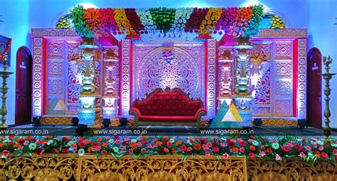 Wedding Flower Decorating by Decorations 171 Sigaram Wedding Decorators