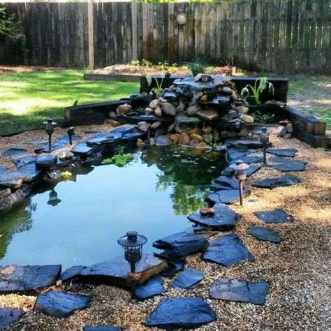 diy pool waterfall 13 diy awesome natural backyard pond ideas for all budgets