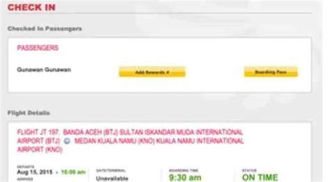 citilink garuda web check in tata cara check in online lion air informasi aktual