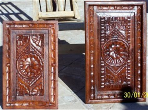 Carved Kitchen Cabinet Doors by Rustic 101 Carving Custom
