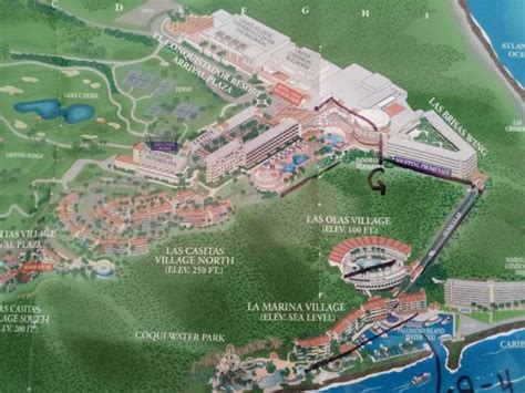 fajardo resort map picture of el conquistador resort a waldorf