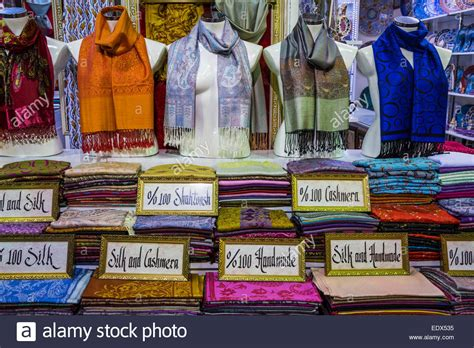 a scarf shop in the grand bazaar sultanahmet istanbul