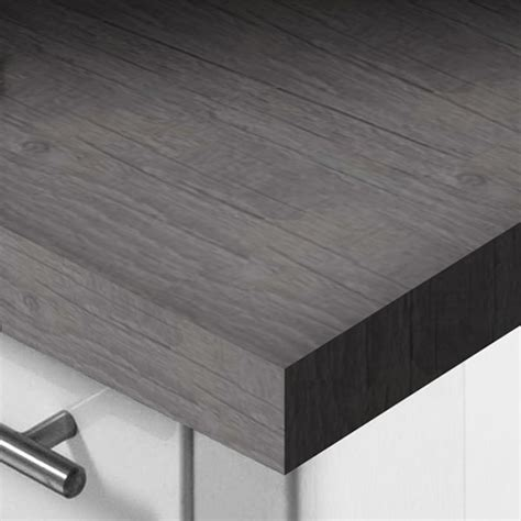 Grey Laminate Kitchen Worktops by Apex 50mm Square Edge Worktops Serenity Kitchens And