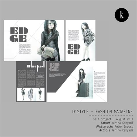 Magazine Layout On Behance | layout magazine portfolio on behance