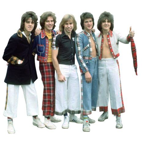 L 842 Transparent Top Bottom Costume bay city rollers transparent background