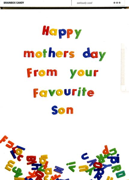 10 Favourite Cards For Mothers Day by S Day Card Happy Mothers Day From Your