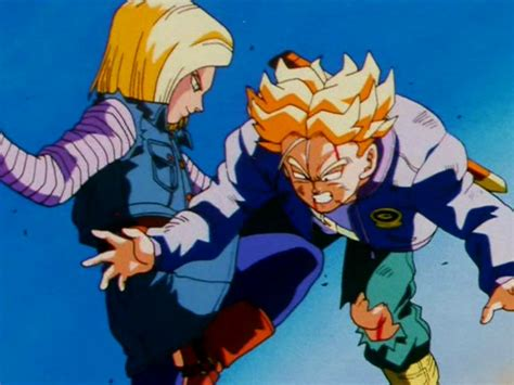 trunks vs androids future android 18 wiki