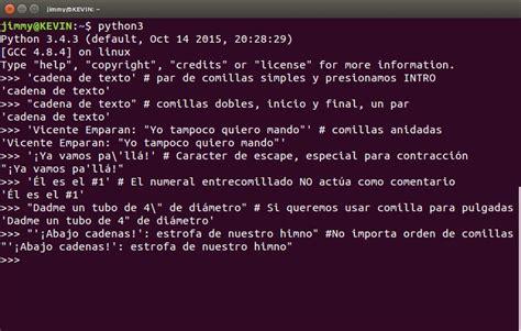 cadenas de texto en python python 3 5 2 tutorial ks7000 wp