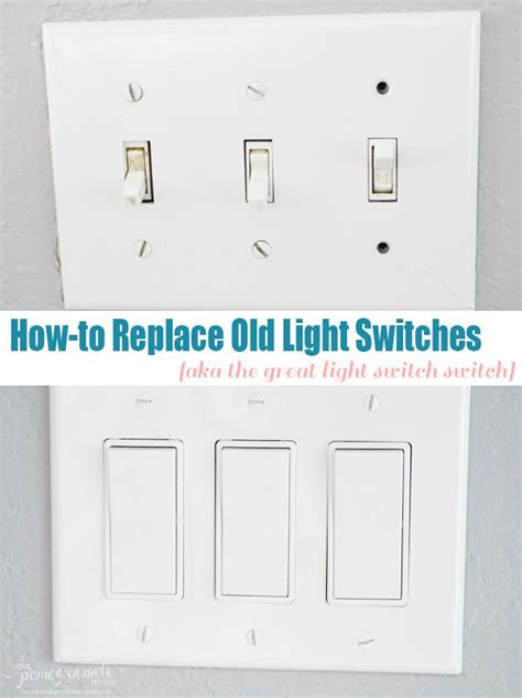 how to replace light switches pomegranate
