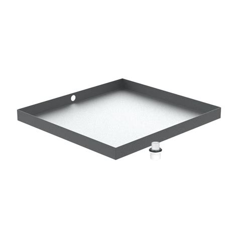 Washer Floor Tray by Galvanized Washer Floor Drain Pan