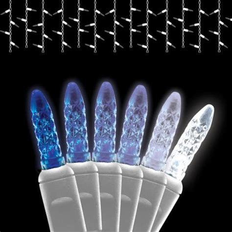 noma cascading led icicle lights icicle lights great icelite solar icicle string led