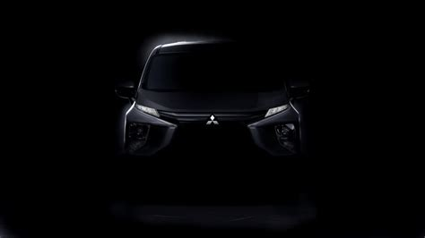mitsubishi expander all new 2017 mitsubishi expander front end unmasked auto