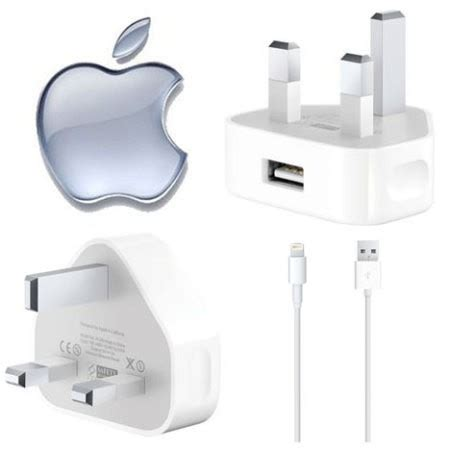 apple 5 charger genuine apple iphone 5 6 mains charger with data lead